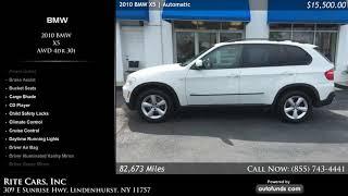 Used 2010 BMW X5 | Rite Cars, Inc, Lindenhurst, NY