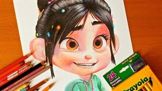 Drawing: VANELLOPE VON SCHWEETZ | Wreck it Ralph | BUDGET ART