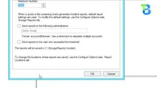 *NEW* Configure Disk Quota using FSRM (Windows Server 2012 R2)