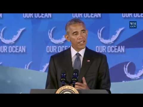 President Obama Delivers Remarks at the 2016 Our Ocean Confe