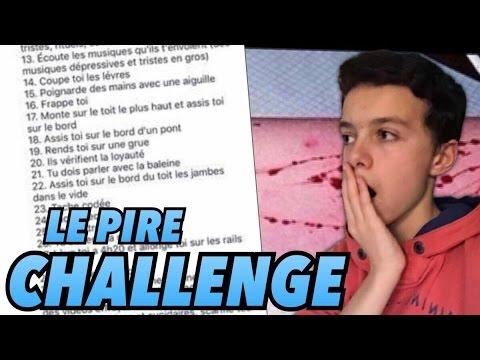 BLUE WHALE CHALLENGE / Le Nouveau Challenge dangereux ...