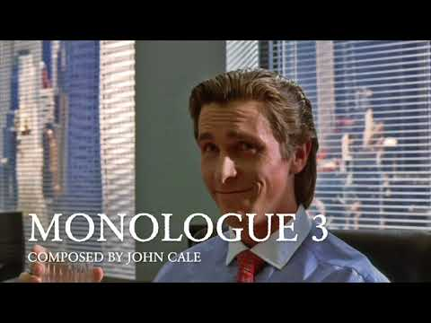 [Piano Cover] John Cale – Monologue 3 (from American Psycho)