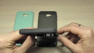 накладка для Samsung G570F Galaxy J5 Prime Carbon обзор
