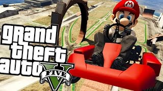 MARIO W GTA 5 ;___;! | GTA 5 PC MODY