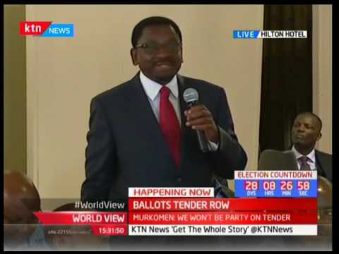 Lawyer James Orengo to Raphael Tuju: We are not here to engage each other