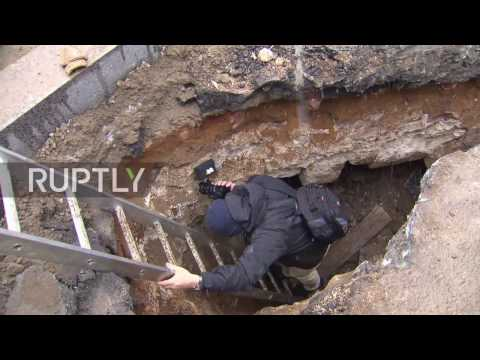 Russia: 'Secret spy room' unearthed by archaeologists beneath Moscow street