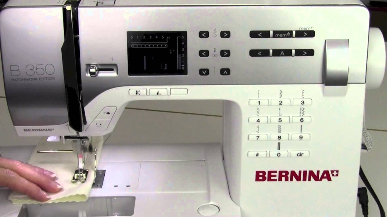 bernina 350 11 seam guides and markings youtube rh youtube com User Training Online User Guide