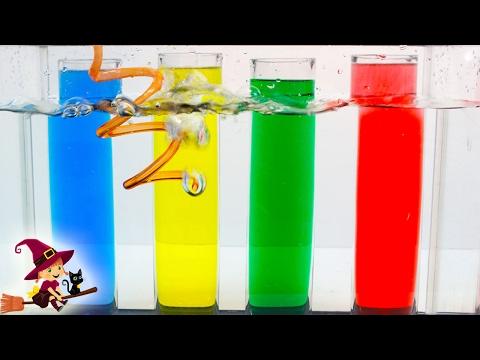 Experimentos Caseros con Agua 💧Aprende los Colores con Mejores Juguetes