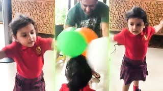 Dhoni and Ziva Dhoni Cute Moments