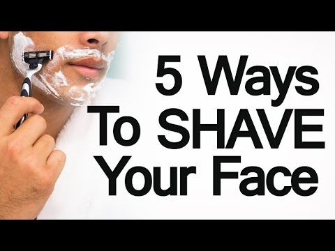 Best way to shave facial hair