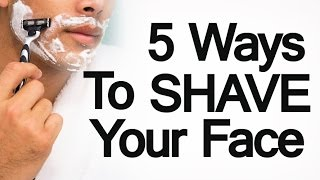 5 Ways to Shave Facial Hair | Man's Guide to Different Shaving Methods