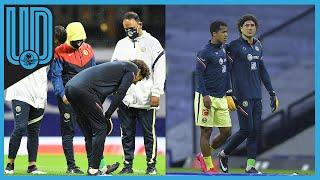 Una lesión durante el calentamiento provocó que Guillermo Ochoa no jugara el partido contra Cruz Azul