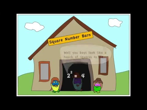 Adam Up Maths - Square Numbers and Square Roots Song