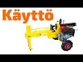 Klapikone Jonköping polttomoottorilla 10 T - Käyttötesti