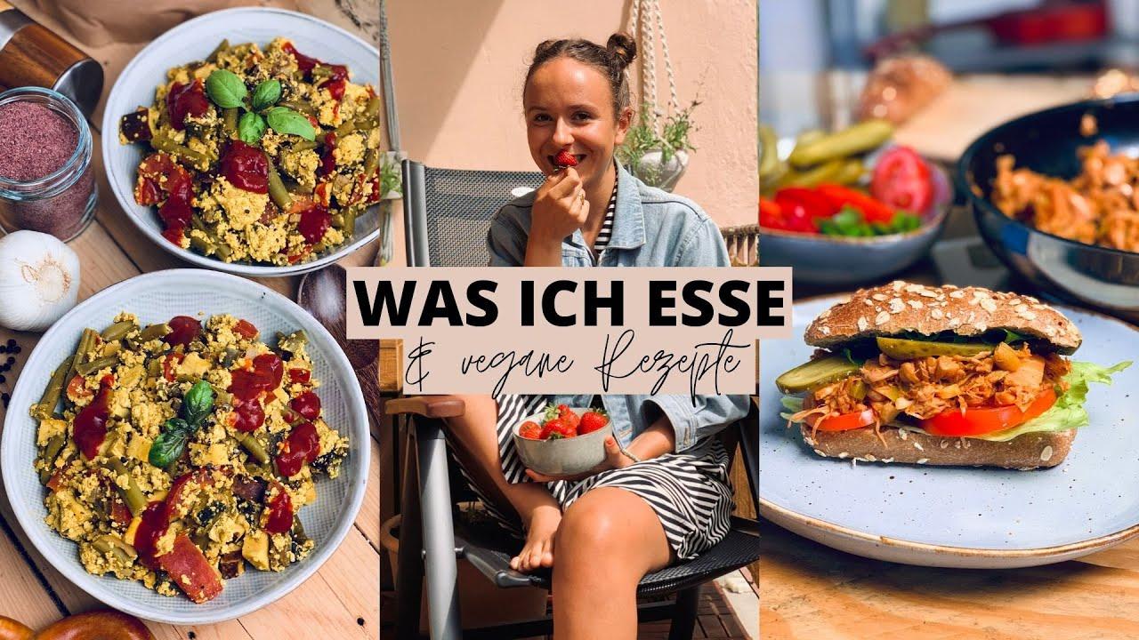 WAS ICH AN EINEM TAG ESSE » Veganes Rührei & Pulled Jackfruit Sandwiches