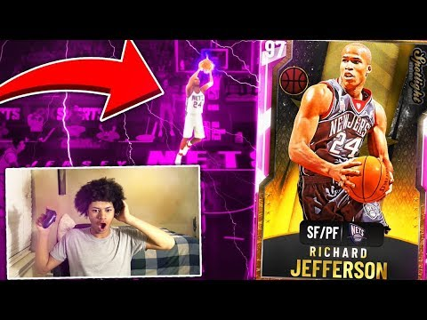 FREE PINK DIAMOND RICHARD JEFFERSON IS UNSTOPPABLE! THE GRIND IS WORTH IT! NBA 2K20 MYTEAM GAMEPLAY