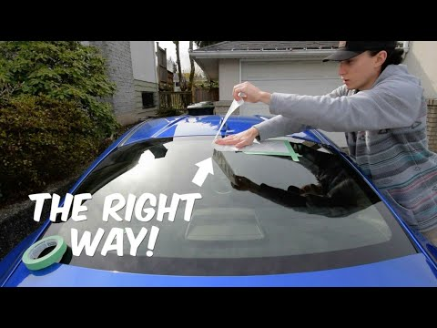 How To Install A Vinyl Decal!