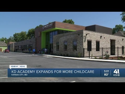 Kansas City couple opens KD Academy's newest location on Prospect Ave for underserved families