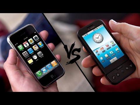 Retro Battle: iPhone Classic vs. Google G1! - felixba & iKnowReview