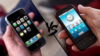 Retro Battle: iPhone Classic vs. Google G1! - felixba & iKnowReview