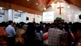 """""""Doa Bapa Kami"""" dalam Bahasa Batak di Ibadah Minggu HKBP Semper"""