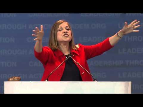 Loretta Sanchez at CA Democrats Convention 2015