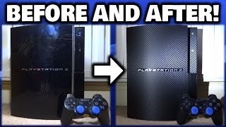 Making Scratched/Damaged Console Look New With Skins!