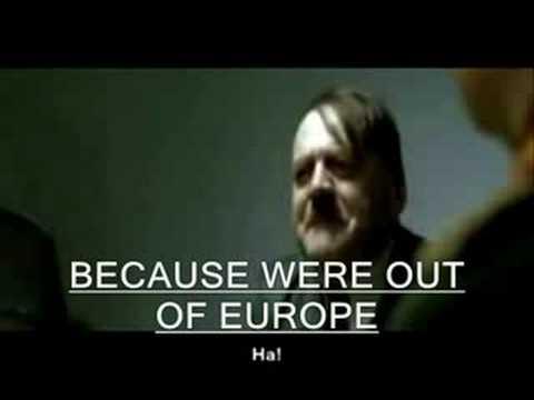 Hitler's Reaction To Kaunas 2-1 Rangers