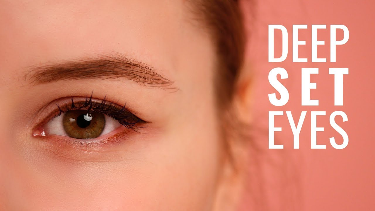 How to apply an eyeliner on uneven, deep set eyes