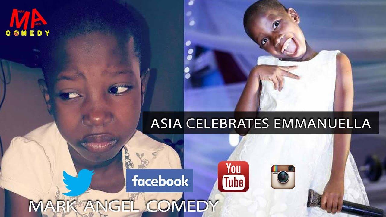 ASIA CELEBRATES EMMANUELLA OF Mark Angel Comedy