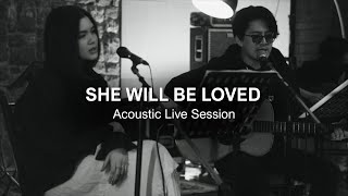Maroon 5 - She Will Be Loved | Max Jenmana X SAMMii | Acoustic Live Session