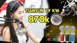 Đập Hộp Micro Thu Âm TIANYUN TY K16 870k
