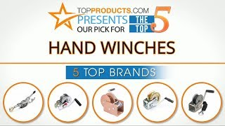 Best Hand Winch Reviews 2017 – How to Choose the Best Hand Winch
