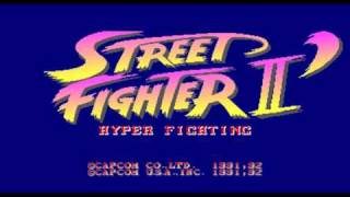 Street Fighter II Arcade Music - Ken Stage - CPS1
