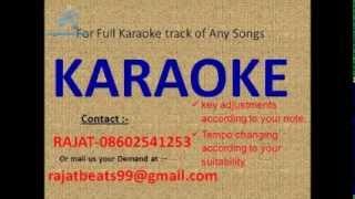 Ye raat bheegi bheegi karaoke track