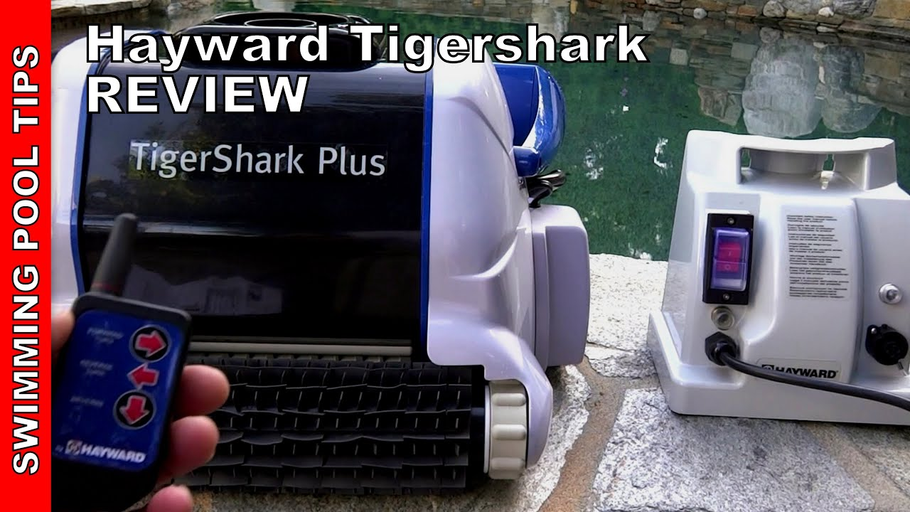Hayward tigershark robotic pool cleaner review youtube for Pool cleaner reviews 2013