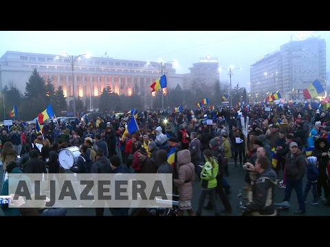 Romania's government under pressure as 500,000 protest
