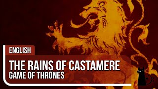 """""""The Rains of Castamere"""" (Game of Thrones) Vocal Cover by Li..."""