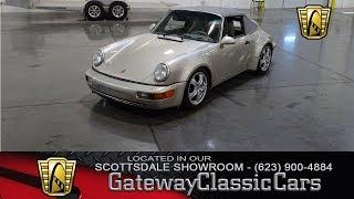 1990 Porsche 911 Carrera, Gateway Classic Cars Scottsdale #386 thumbnail
