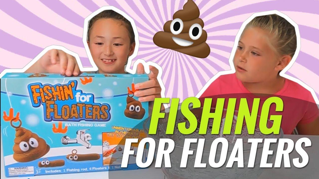 Fishin/' for floaters Game Family Fun Novelty Joke Poo Poop Bath