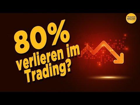 80% der Trader verlieren? So gehörst Du nicht dazu!