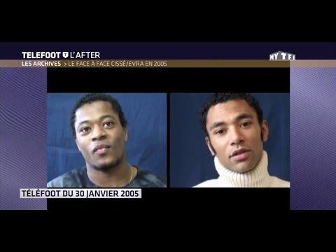 Complices : Patrice Evra et Edouard Cissé en 2005