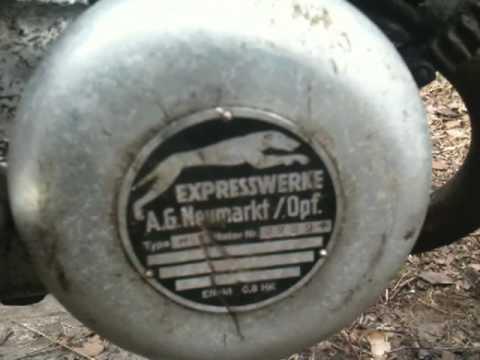 Örnen moped med Expressmotor.