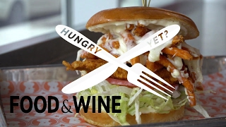 """Fried Chicken at """"Blue Ribbon Fried Chicken"""" 