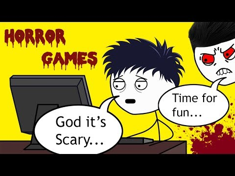 What it feels like to play Horror Games