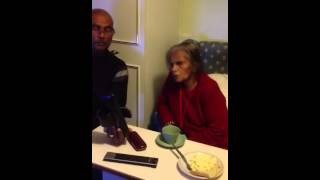 Nanny singing Jim Reeves