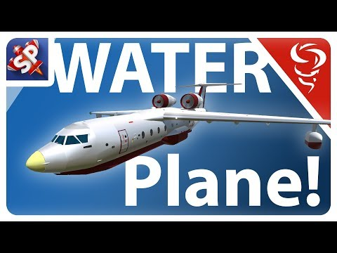 Watery Cargo Plane!  -  Simple Planes