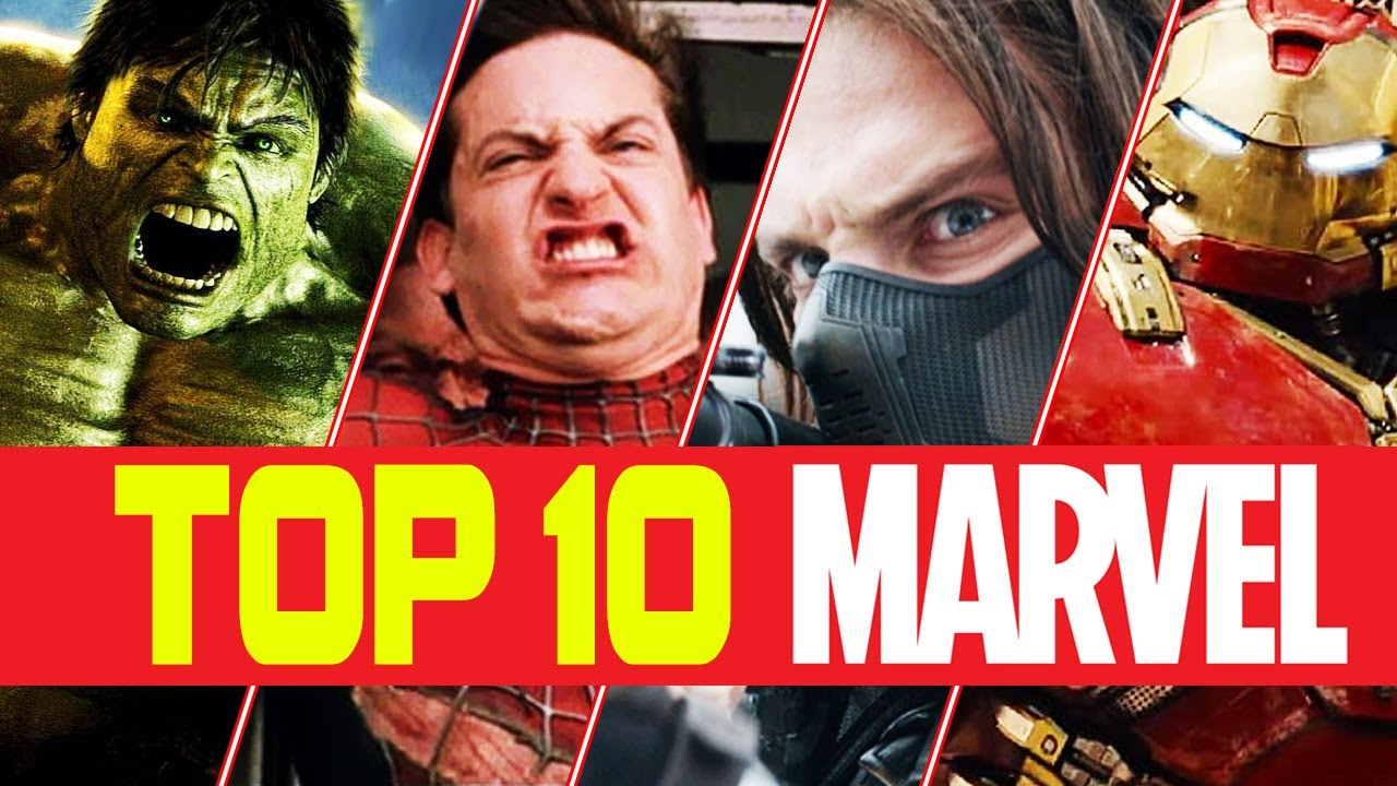 TOP 10 BEST ACTION SCENES FROM MARVEL MOVIES VOL. #1
