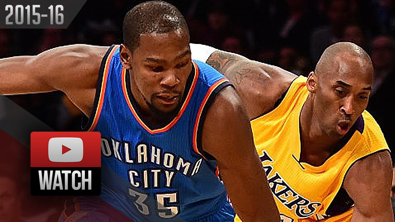 Kevin Durant: Kobe Bryant 'Is A God To Me' And Taught Me To Shoot On Every Touch