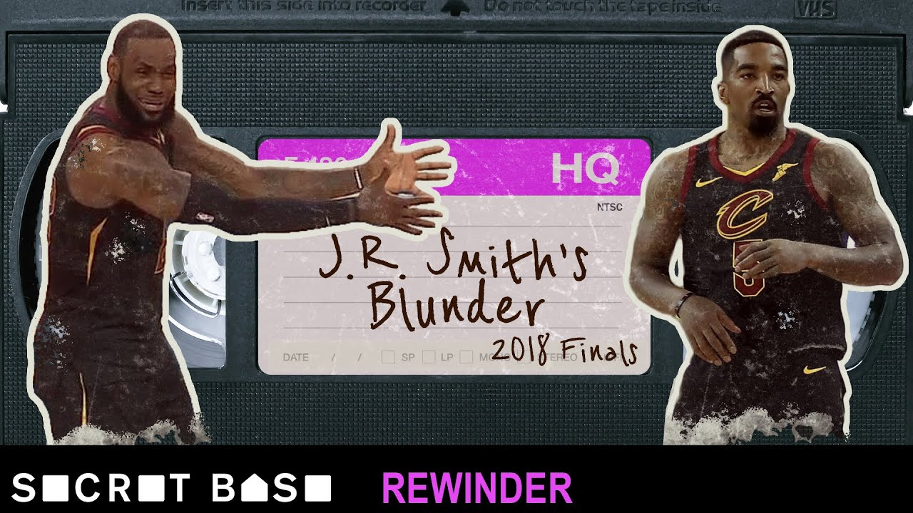 J.R. Smith's NBA Finals blunder deserves a deep rewind | Warriors vs Cavaliers 2018 image
